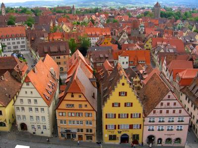ロマンティック街道の町を訪ねて(1)~ローテンブルクで中世の世界にひたる