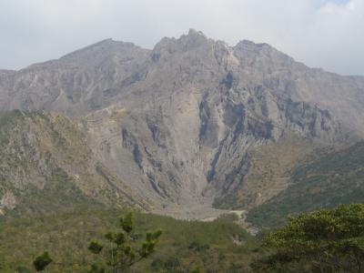 桜島を見に鹿児島へ