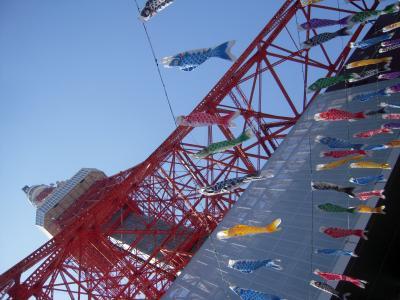 2012年 おのぼりさんの桜見物 ~新宿御苑・千鳥ヶ淵・東京タワー~