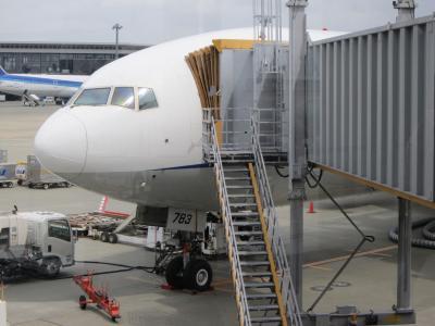 初めてのパリ&ブリュッセル(1:NH205便で出国編)