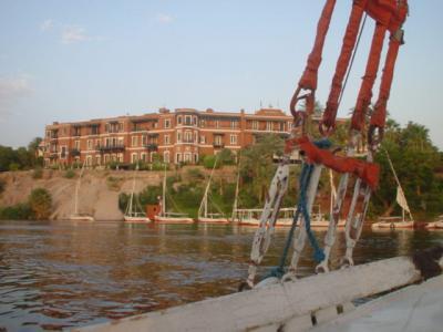 2002年8月5日 エジプトの旅 アスワン=オールド・カタラクト ホテル(アガサ・クリスティー:スィート・ルーム & 時を超えて)