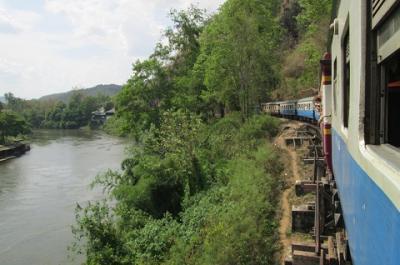 2013年4月 タイ・ラオス鉄道の旅 6~8日目(全8日間)