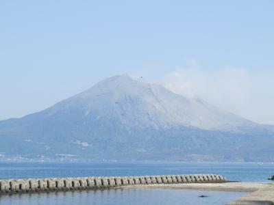 フェリーで鹿児島へー桜島と霧島の観光