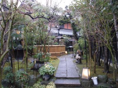旧東海道、間の宿有松でランチ