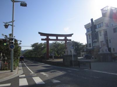 鎌倉に早朝ラン