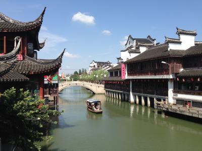 2013年7月上海近郊水郷古鎮七宝とオシャレな街、上海を歩きつくす旅