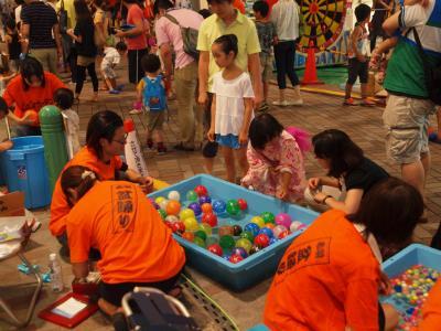 夏祭り  ララガーデン (赤羽すずらん通り商店街) 盆踊り