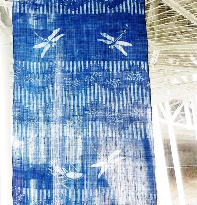Japan 昭和記念公園 2013 涼しげな夏 ふたつの藍染