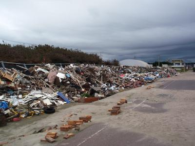 20110311東日本大震災の爪痕 旭市飯岡の津波被害
