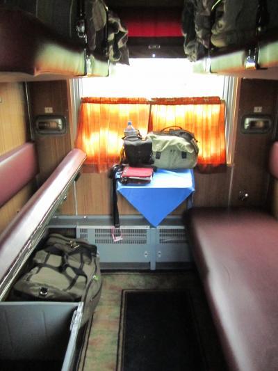 2013年ロシア旅行~13年ぶりの再訪を3年前にあきらめた旅行計画で実現~ハイライトその10【ロシアの列車とバスの旅】
