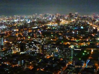 【宿泊レポ☆4】出張ついでの…#11 (^^ゞ  ホテル大阪ベイタワー41階からの夜景☆