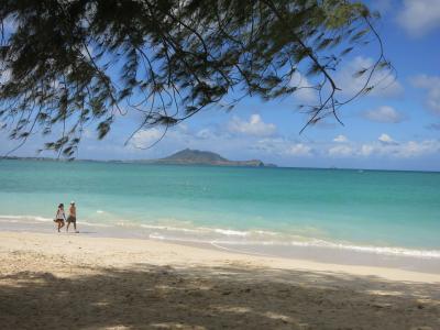 2013 母と亡き父と一緒に…ハワイへ