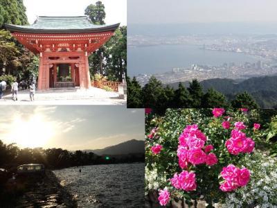 比叡山から琵琶湖へ・日帰りドライブ旅行♪