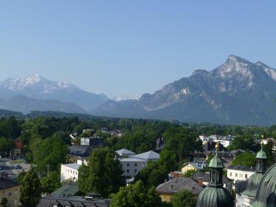 映画「サウンド・オブ・ミュージック」のロケ地を訪ねて《ザルツブルク市内の一部》2013年オーストリア旅行【4】