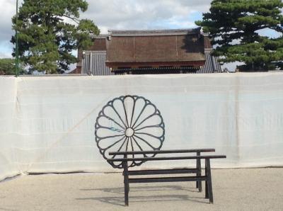 時代祭りの裏方風情と平安神宮への散策!!