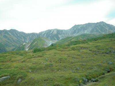 初秋の立山黒部アルペンルート