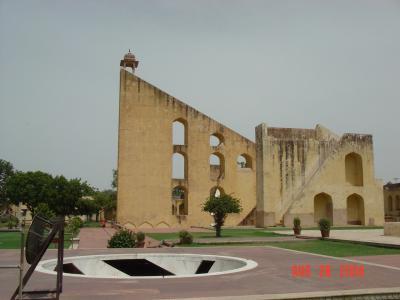 インド=ジャイプール 天文台=ジャンタル・マンタル (Jantar Mantar)編