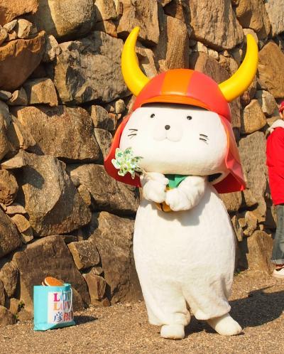 2013 彦根城でひこにゃんに会う