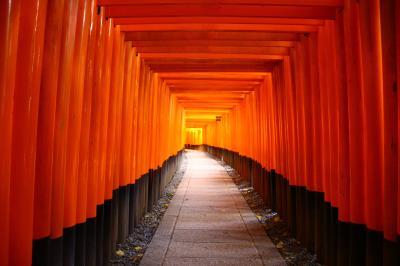 秋の京都~伏見稲荷大社・錦市場・清水寺・銀閣寺