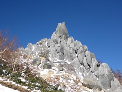 鳳凰三山地蔵岳登山(キリマンジャロ登山訓練シリーズ)