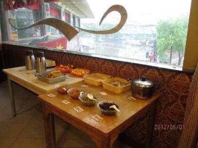 中国・歴史の旅(132)南京「格林聯盟酒店」での朝食。
