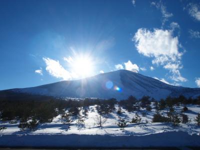 硫黄泉を求めて 万座温泉02 豊国館~万座温泉スキー場~浅間山