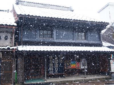 青春18きっぷで出掛けよう 2014冬♪ 「雪降る鋳物と万葉のふるさと高岡(+_+)」
