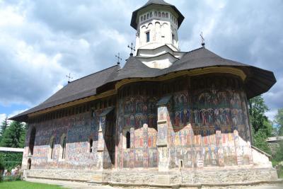 ルーマニア4歳子連れ旅(1) ブコヴィナ地方の5つの修道院めぐり
