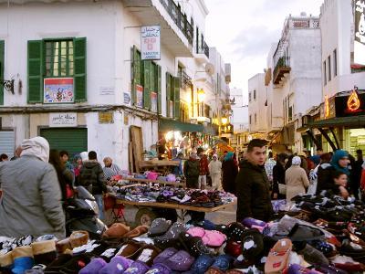 テトゥアンで世界遺産のメディナを歩く!スペイン風の街並み
