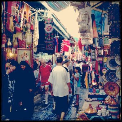 チュニジアは暑かった・・・2013夏⑩チュニスで街ブラ&トルコ航空復路編