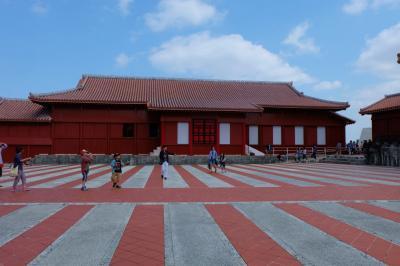 沖縄ツアー 最終日は 首里公園 DFSギャラリア沖縄