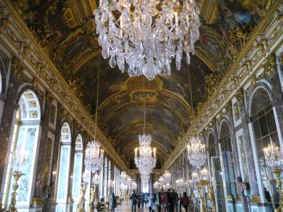 ぷらぷら、パリの一人旅。~シャルトルからヴェルサイユ~