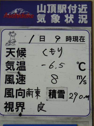 流氷と札幌の旅2013 : 5日目 【 旭川→紋別 】