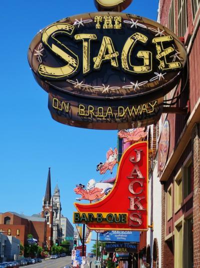 さぁ、カントリーの都「ナッシュビル」のダウンタウン!  JAZZが弾ける「アメリカ南部」、娘と二人旅~7