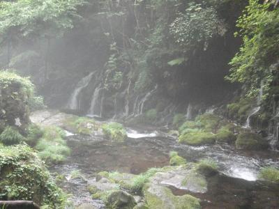 元滝伏流水~十六羅漢岩
