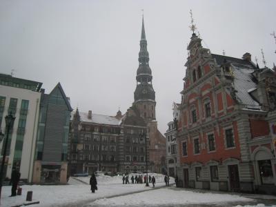 2009冬のストックホルムとフェリーに乗ってラトビア・リガ(その3・リガ編)