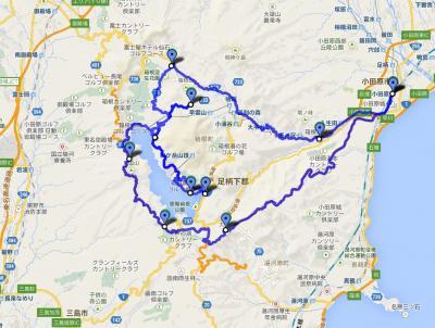 富士山のビュースポットを巡る箱根ドライブ
