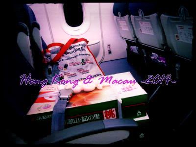 2014★香港・マカオ旅行 1日目 初MMでいざ香港へ