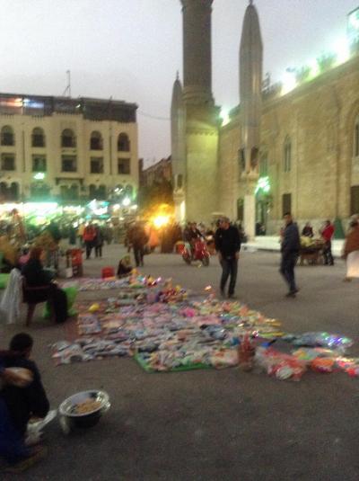 カイロ、ハンハリーリ市場にて