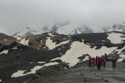 スイス・ハイキング 現地UP第一弾 : ツェルマットは天気が悪くて・・