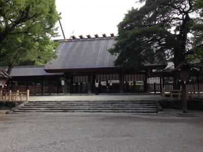 名古屋市内を観光しました