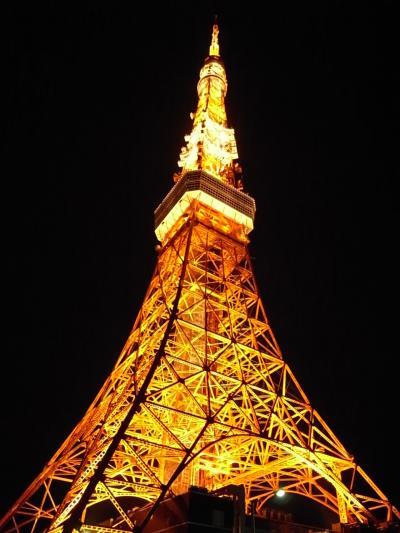 庶民的な感じ、東京タワー。人気スカイツリー