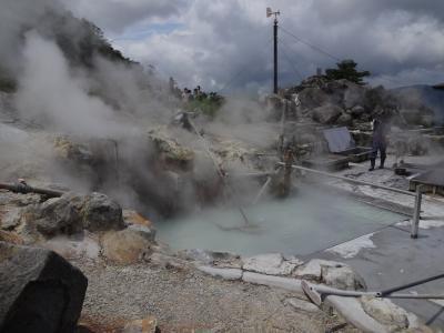 箱根は曇り&雨。富士山は見られなかったが、いい避暑になった。