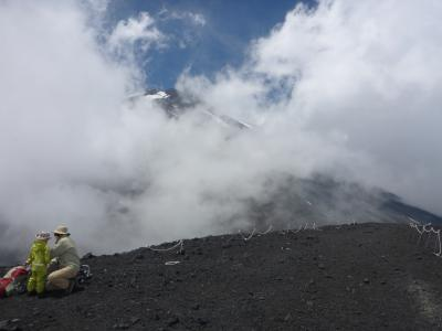 富士山登頂の予行練習