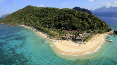 エルニド ラグジュアリークラスのホテルへ 「パングラシアンアイランドリゾート」