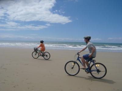 ポートダグラス家族旅行⑨5日目~自転車で4マイルビーチ