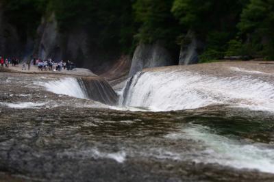 吹割の滝 遊歩道散歩