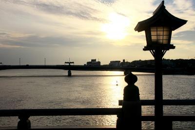 秋の島根へ、宍道湖をぐるっとひと回り(その2、松江城を見た後は夕日を求めて宍道湖畔へ)