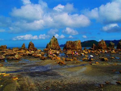 鯨と泳げる海水浴場・太地へ♪見どころいっぱーい☆和歌山、海・川・山・温泉・マグロ
