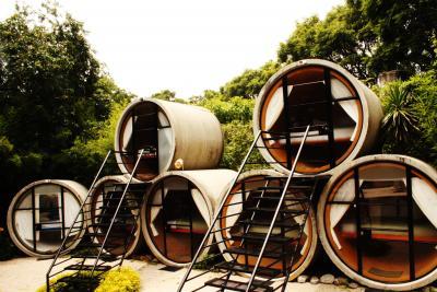 Tepoztlanの土管ホテル